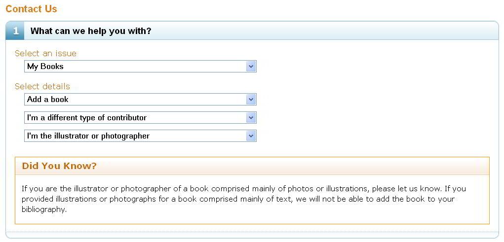 Claim a book as an Illustrator on Amazon